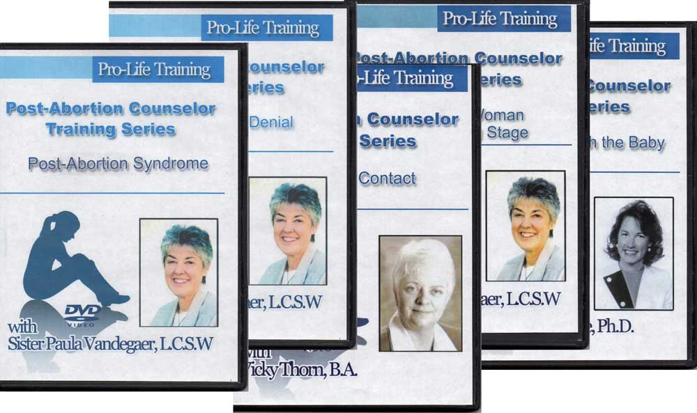 Post-Abortion Counselor Training DVDs